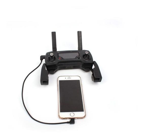 Cabo Otg Lightning iPhone Ipads Para Controle Drone Dji Mavic Pro Mavic Air E Spark....