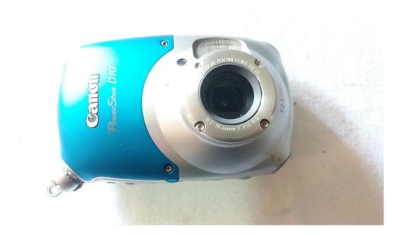 Câmera Digital Canon Power Shot D10 (ler Anuncio)