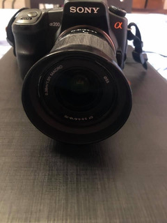 Camara Fotografica Sony Alpha A200
