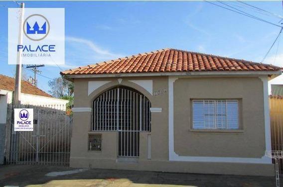 Casa Com 2 Dormitórios Para Alugar, 53 M² Por R$ 950/mês - Paulista - Piracicaba/sp - Ca0101