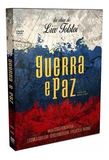 Dvd Guerra E Paz, Leo Tolstoi, Produção Russa, Box 3 Dvds +