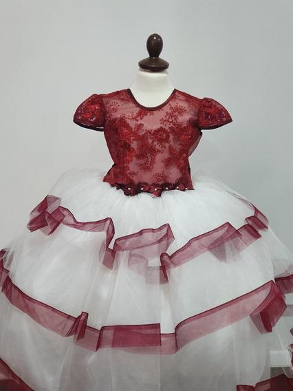 Elegante Vestido Fiesta Niña. Presentación. 3 Años