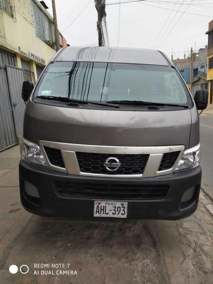 Vendo Microbus Nissan Urban Techo Alto -año 2,015