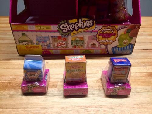 Imagen 1 de 2 de Shopkins Lote 3 Mini Packs - Ver Surtido - 03_recs