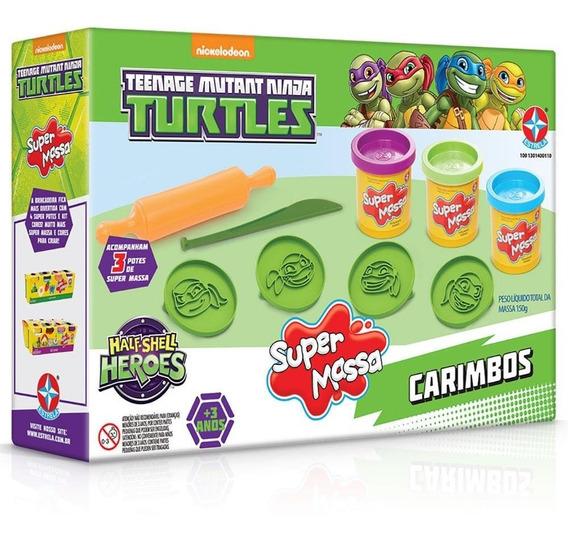 Brinquedos Menino Tartarugas Ninja Massinha Modelar Estrela