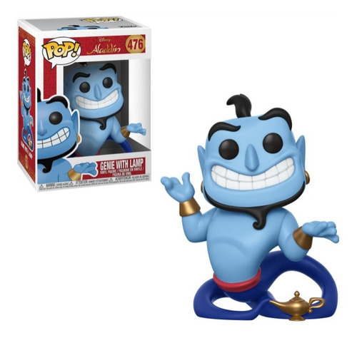 Funko Pop! Disney Aladdin - Gennie With Lamp #476