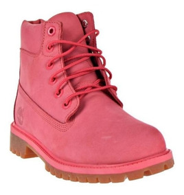 Botas Timberland Mujer Rosas 6 Prem Boot Pnk Tb0a1lqm657
