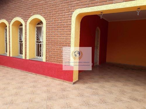 Casa Com 3 Dormitórios À Venda, 140 M² Por R$ 620.000,00 - Vila Costa E Silva - Campinas/sp - Ca0650