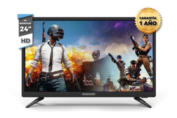 Tv Monitor 24 Panavox Hd Garantia Envios Todo Uruguay