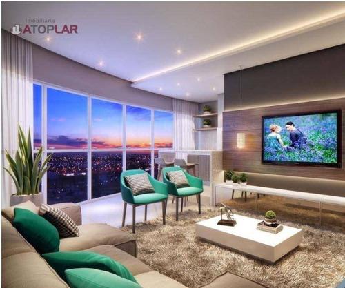 Apartamento Com 3 Suítes À Venda, 138 M² Por R$ 2.523.000 - Quadra Mar Barra Sul - Balneário Camboriú/sc - Ap0077