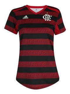 Camisa Camiseta Blusa Feminina Flamengo Oficial Rubro Negro