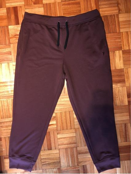 Pantalon Deportivo Old Navy Talle Xl Tipochupin Hombre Bordo