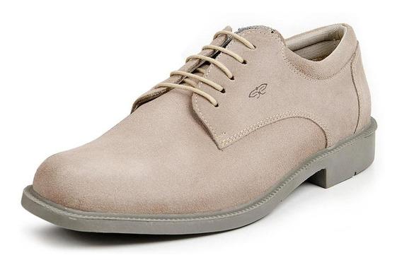 Sapato Casual Camurça Masculino Sola Borracha Conforto