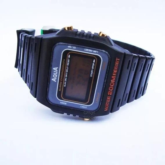Relogio Unissex Digital Cronometro Alarme Oferta