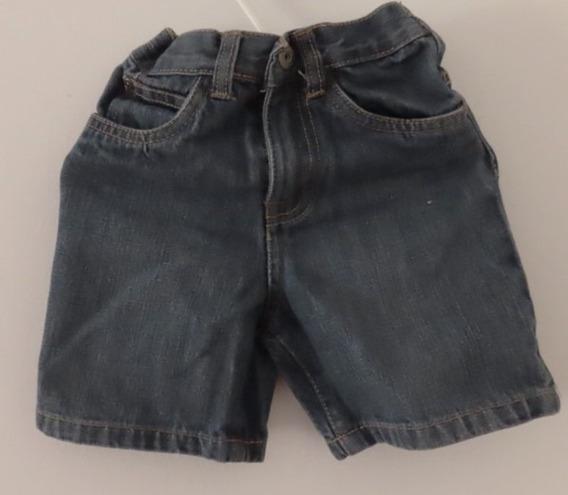 Short De Jeans Calvin Cleans Para Niño Talle 24 Meses