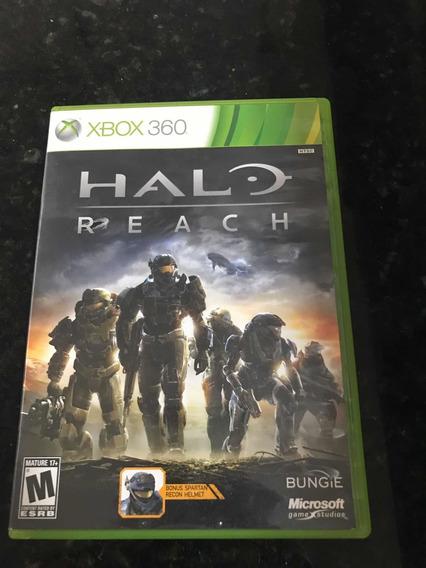 Jogo Xbox 360 Halo Reach Original Mídia Física