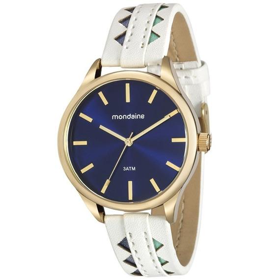 Relógio Feminino Mondaine Coleção Deserto Cor Azul