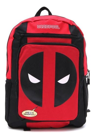 Mochila Deadpool Vermelha #11374 - Dmw