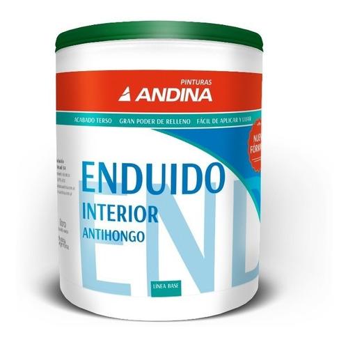 Enduido Interior Andina X 1 Lt Pintumm