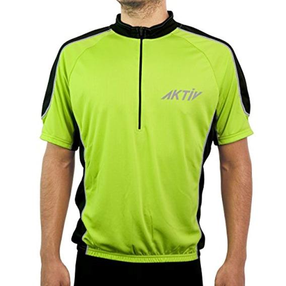 Aktiv Sports Deportes Ciclismo Manga Corta Jersey