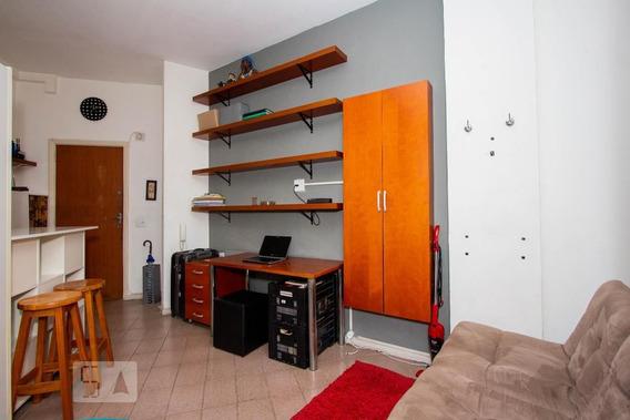 Studio No 12º Andar Mobiliado Com 1 Dormitório - Id: 892997097 - 297097