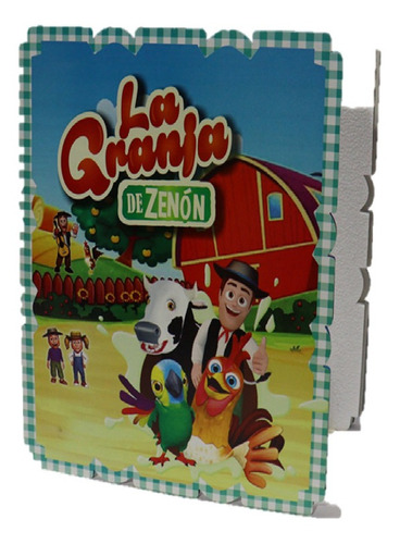 Piñata Cuadrada Infantil Decoracion La Granja De Zenón