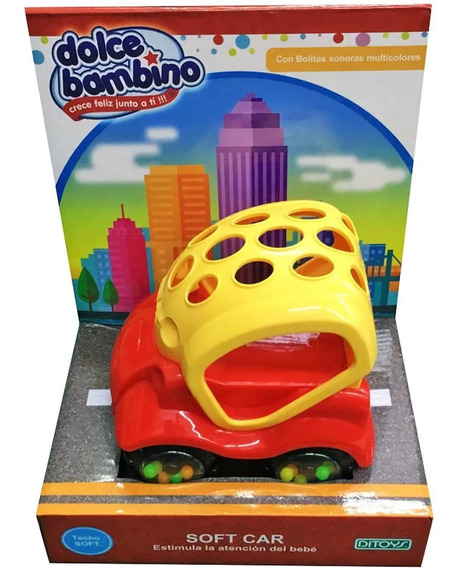 Juguete Nene Auto Soft Dolce Bambino Bebe Ditoys 2029 Promo