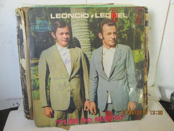 Lp Leoncio E Leonel Flor Do Sertao 01087 Ano 1973