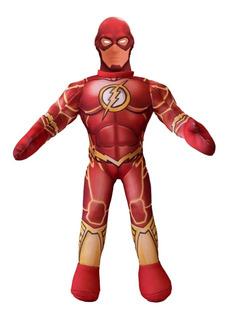 Muñeco Soft Flash Liga De La Justicia Original New Toys