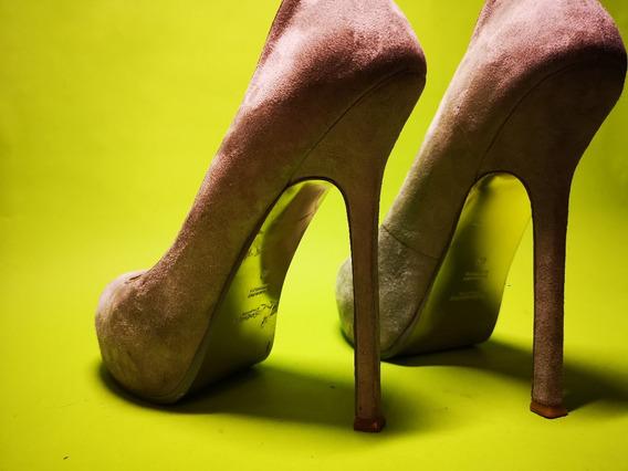 Zapatos Tacon Yves Saint Laurent Ysl Tribute | Envio Gratis
