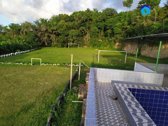 Chácara Com 3 Dormitórios À Venda Por R$ 300.000,00 - Conde - Conde/pb - Ch0062