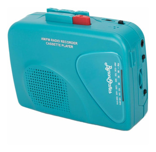 Byron Estática Cassette Radio De Fm Radio Am Walkman De Case