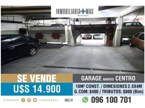 Cochera Garage Venta Palermo Montevideo Imas.uy L *
