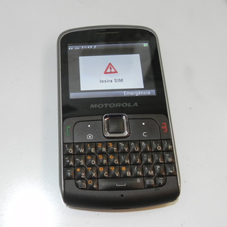 Motorola Ex115 Bluetooth Câmera 3mp Mp3 Qwerty **usado**