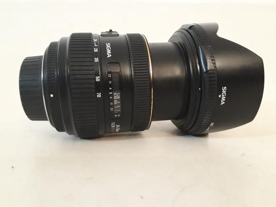 Lente Sigma 24-70 F2.8 Para Nikon