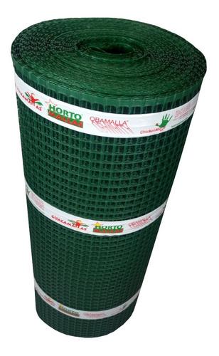 Imagen 1 de 6 de Polyhardware Malla De Plástico/ Color Verde De 1x50m 2x2cm