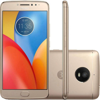 Motorola Moto E4 Plus Xt1773 16/2gb 13mp Dourado Vitrine 1