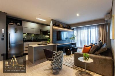Maravilhoso Apartamento Mobiliado Novare Alphaville Para Locação. - Ap1490