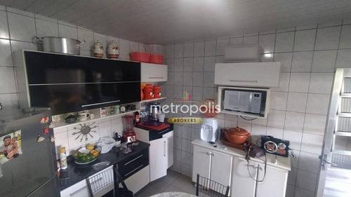 Imagem 1 de 14 de Casa Com 2 Dormitórios À Venda, 184 M² Por R$ 580.000,00 - Mauá - São Caetano Do Sul/sp - Ca0945