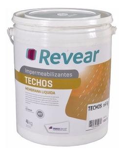 Revear Techos Pared Membrana Liquida Impermeabilizante 20kg