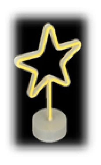 Luminaria Decorativa Estrela Jolitex Mek