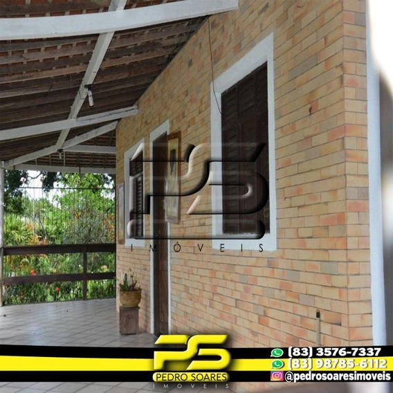 Granja À Venda, 40000 M² Por R$ 1.000.000 - Zona Rural - Conde/pb - Ch0007
