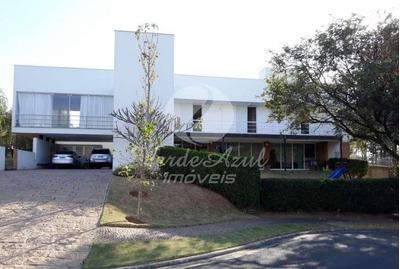 Casa À Venda Em Loteamento Alphaville Campinas - Ca004303
