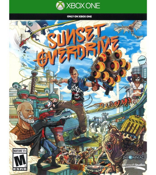 Sunset Overdrive Xbox One Midia Fisica - Lacrado
