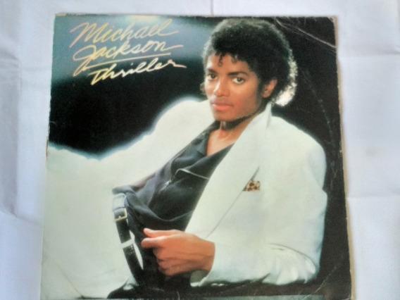 Lp Michael Jackson Thriller, Vinil Lindo Capa C/ Leve Marca