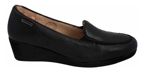 Zapato Dama Hispana Mod 502 Piel Borrego Maximo Confort
