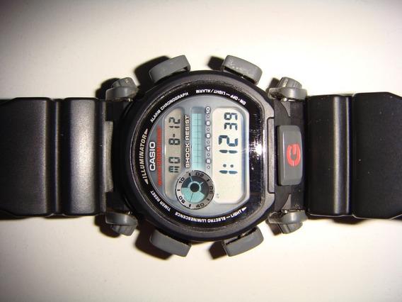 Casio G-shock Dw9052 Único Dono Sem Bezel E Pilha Fraca