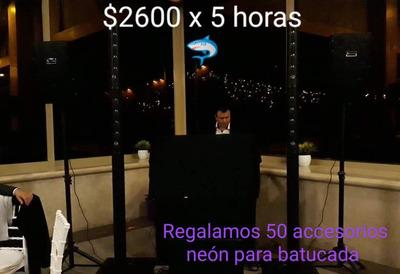 Renta De Luz-sonido Y Dj A Un Bajo Costo