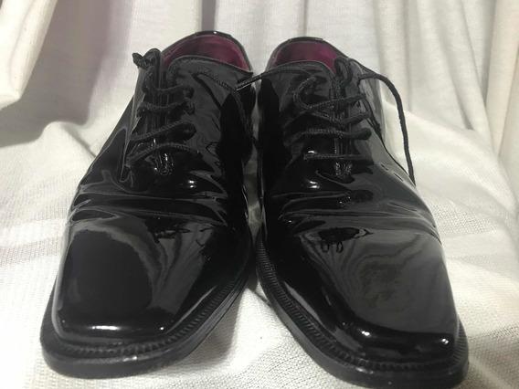 Zapatos Charol 100 X 100 Cuero Rochas
