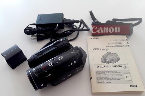 Camera Hdv Canon Vixia Hv30